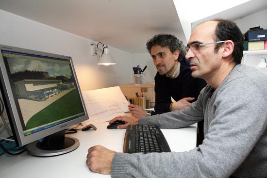 Alfonso Herranz y Javier Chocarro